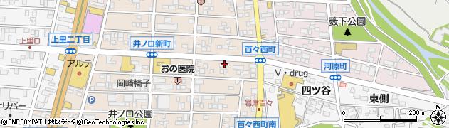四川料理昇龍周辺の地図