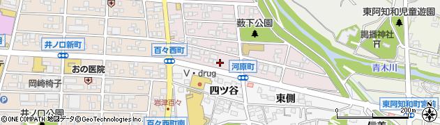 三幸周辺の地図