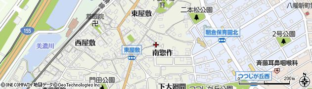 愛知県知多市新知(南惣作)周辺の地図