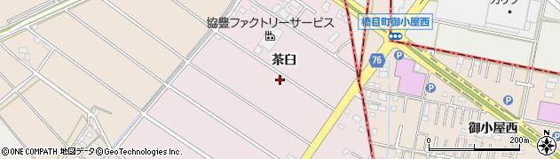 愛知県安城市橋目町周辺の地図