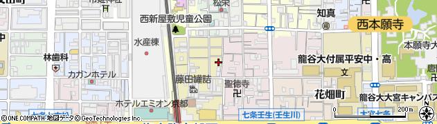 豆子稲荷神社周辺の地図