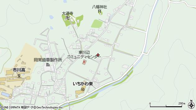 〒679-2316 兵庫県神崎郡市川町東川辺の地図