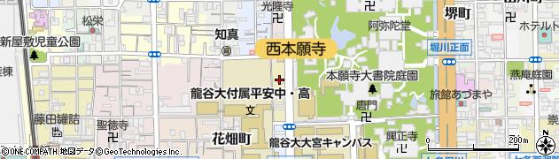 京都府京都市下京区大宮三丁目周辺の地図