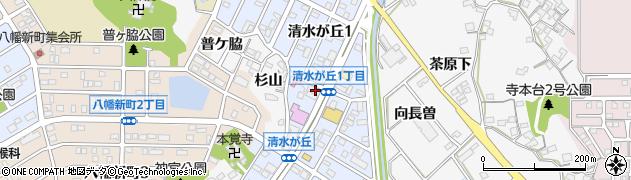 白雪姫周辺の地図