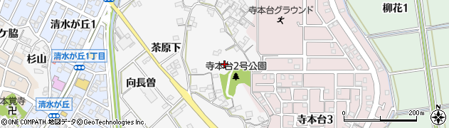 愛知県知多市八幡(東前田)周辺の地図