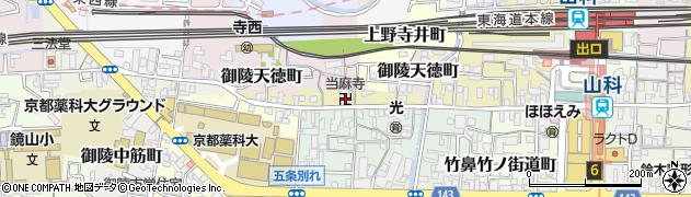 当麻寺周辺の地図