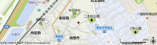 愛知県知多市新知(北惣作)周辺の地図
