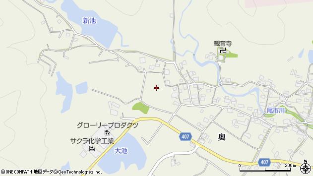 〒679-2325 兵庫県神崎郡市川町奥の地図