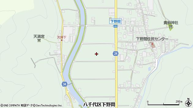 〒677-0122 兵庫県多可郡多可町八千代区下野間の地図