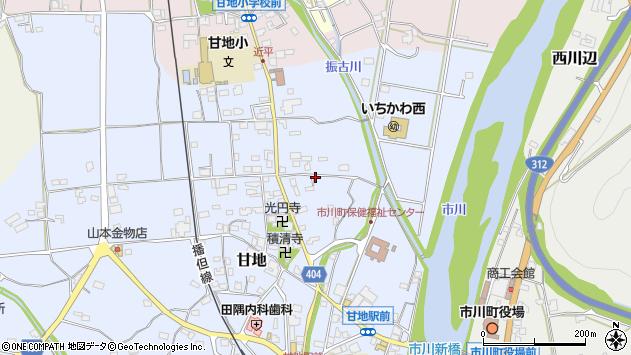 〒679-2323 兵庫県神崎郡市川町甘地の地図