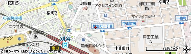 藤和シティコープ刈谷駅前2周辺の地図