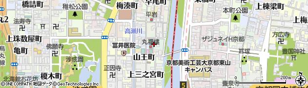 京都府京都市下京区平岡町周辺の地図