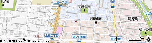 天和周辺の地図