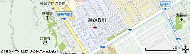 静岡県静岡市清水区緑が丘町周辺の地図
