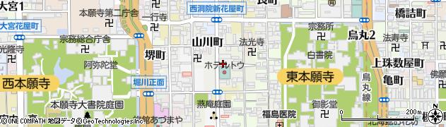 尊超寺周辺の地図