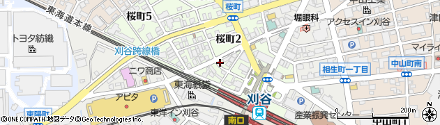 歌楽里周辺の地図