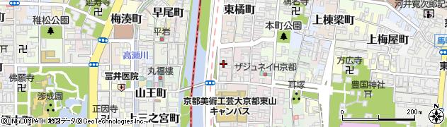 京都府京都市東山区鍵屋町周辺の地図