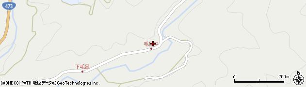 愛知県岡崎市毛呂町(前田)周辺の地図