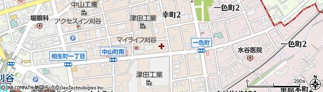 愛知県刈谷市幸町周辺の地図