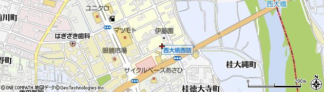 京都府京都市西京区桂畑ケ田町周辺の地図