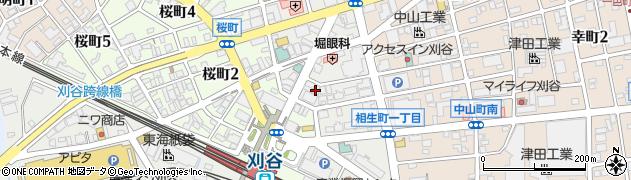 BIRTH周辺の地図