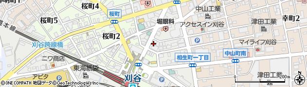 豊丸水産刈谷北口店周辺の地図