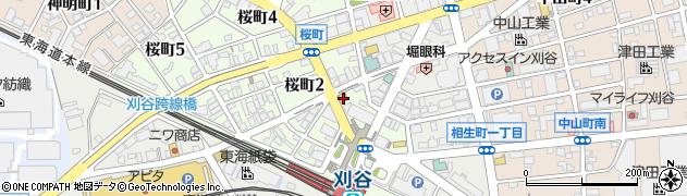 香楽本店周辺の地図