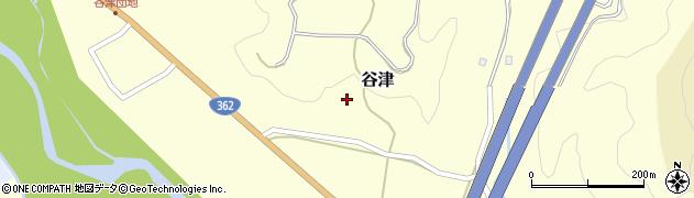 静岡県静岡市葵区谷津周辺の地図