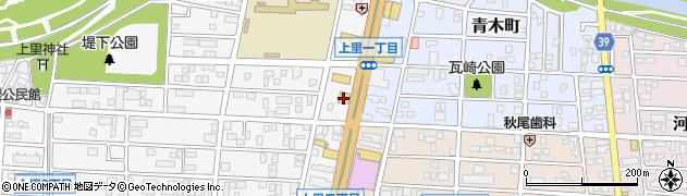 びっくりドンキー岡崎店注文受付周辺の地図