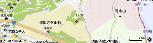 泰産寺周辺の地図