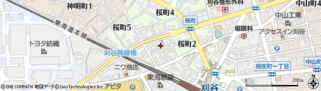 友周辺の地図