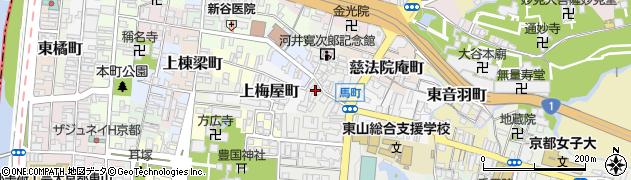 京都府京都市東山区鐘鋳町周辺の地図