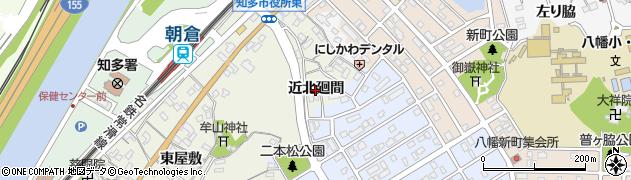 愛知県知多市新知(近北廻間)周辺の地図