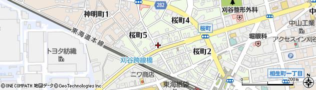 瑞kitchen周辺の地図