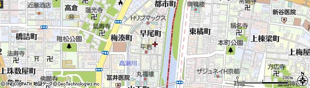 京都府京都市下京区波止土濃町周辺の地図