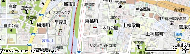 京都府京都市東山区豊浦町周辺の地図