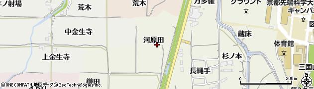 京都府亀岡市曽我部町寺(河原田)周辺の地図