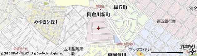 三重県四日市市阿倉川新町周辺の地図
