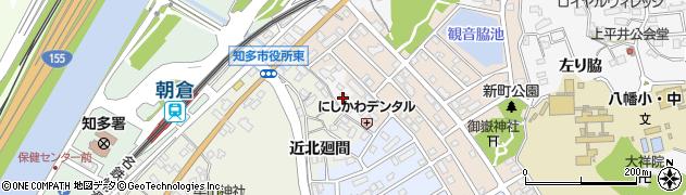 愛知県知多市八幡(北廻間)周辺の地図