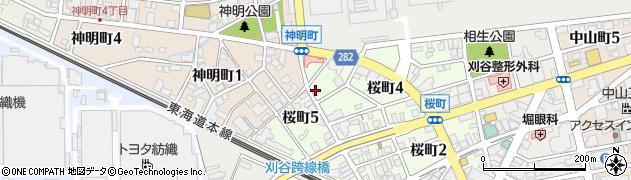 弁当の早川さんとく周辺の地図