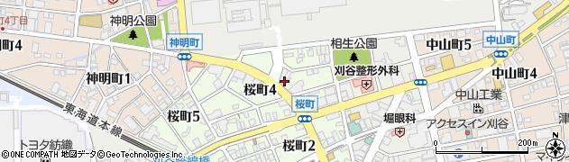 麺屋らいこう周辺の地図