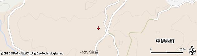 愛知県岡崎市中伊西町(間新家田)周辺の地図