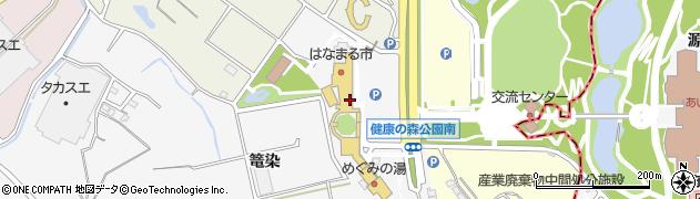 げんきの郷できたて館周辺の地図