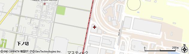 愛知県岡崎市橋目町(奥新切)周辺の地図