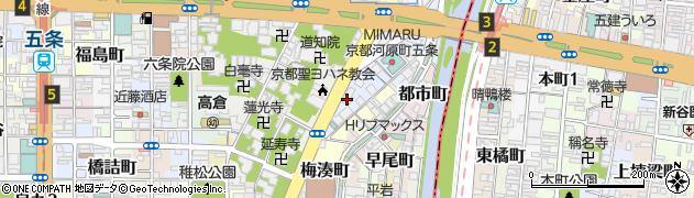 等善寺周辺の地図