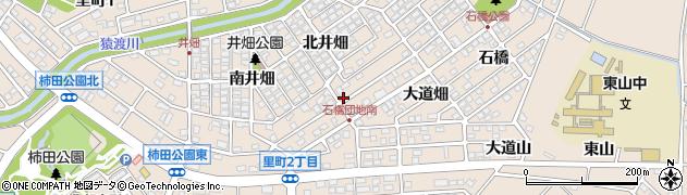 愛知県安城市里町(池ノ浦)周辺の地図