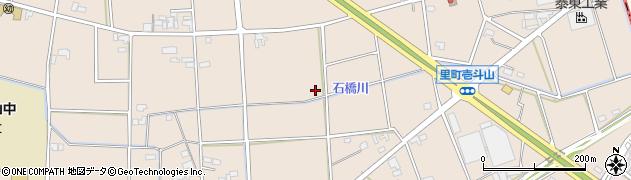 愛知県安城市里町(戸倉)周辺の地図
