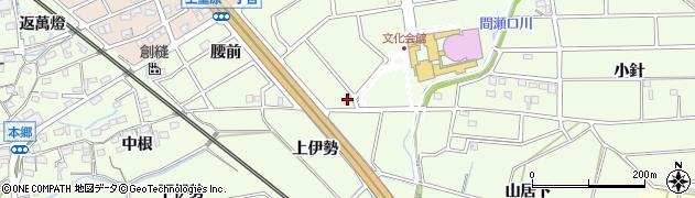 愛知県知立市上重原町(間瀬口)周辺の地図