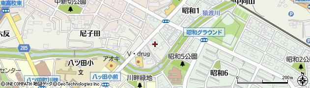 愛知県知立市牛田町(芋堀)周辺の地図