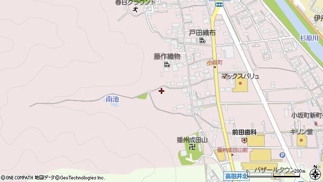 〒677-0017 兵庫県西脇市小坂町の地図